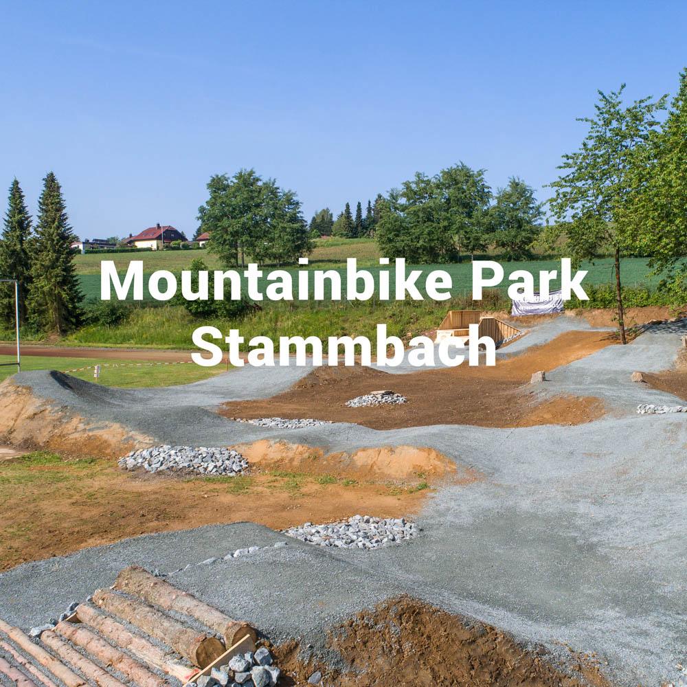 Mountainbike Park Stammbach, gebaut und geplant durch die Firma RadQuartier