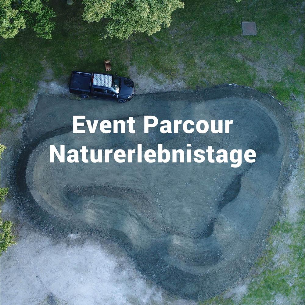 Event Parcour auf den Naturerlebnistagen