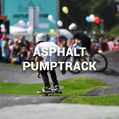 Asphalt Pumptrack in Selb