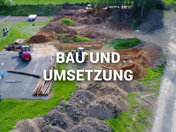 Bau und Umsetzung von Parks