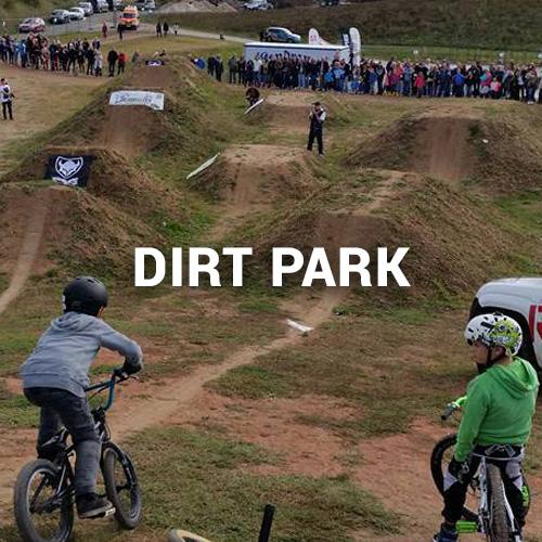 Dirt Park in Bayreuth, geplant und gebaut durch die Firma RadQuartier