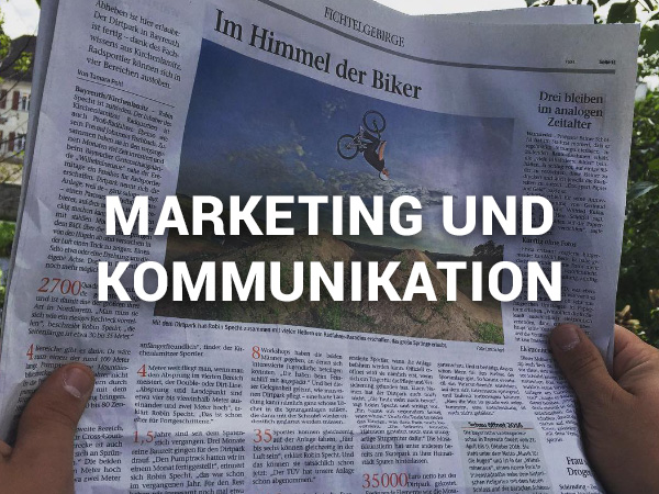 Marketing und Kommunikation von Bikeparks