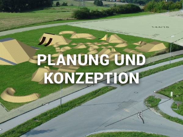 Planung und Konzeption von Bikeparks, Pumptracks und Dirtparks