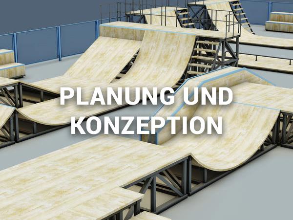 Planung und Konzeption von Parks