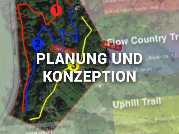 Planung und Konzeption von Trailnetzen