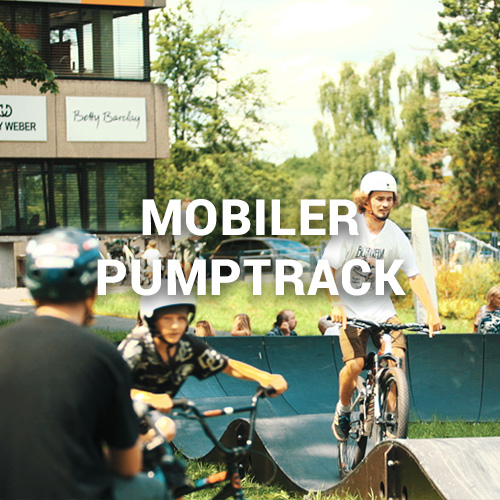 Mobiler Pumptrack / Modular Pumptrack