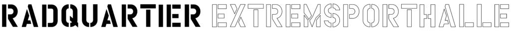 Logo der RadQuartier Extremsporthalle